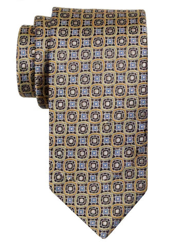 Heritage House 24504 100% Silk Boy's Tie - Neat - Tan Boys Tie Heritage House