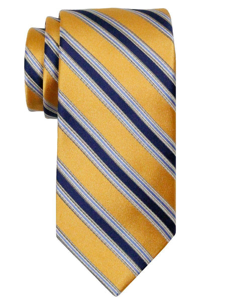 Heritage House 24536 100% Silk Boy's Tie - Stripe - Yellow