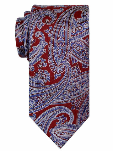 Heritage House 24553 100% Silk Boy's Tie - Paisley - Red/Blue Boys Tie Heritage House