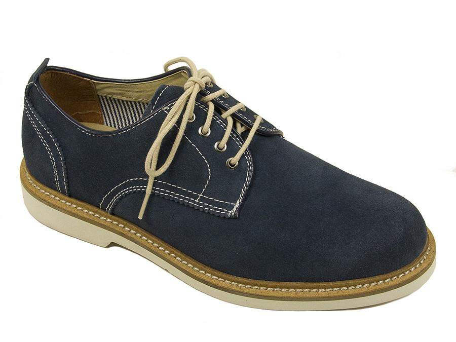 Florsheim 24784 Suede Boy's Shoe - Oxford - Navy