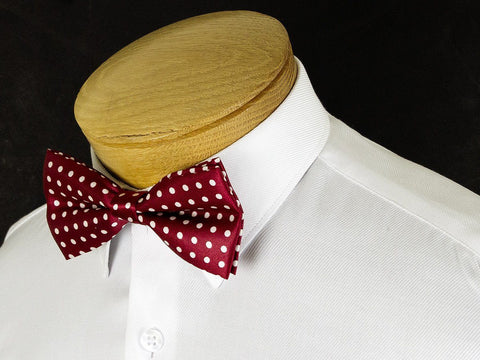 Boy's Bow Tie 24914 Red/White Polka Dot Boys Bow Tie Status