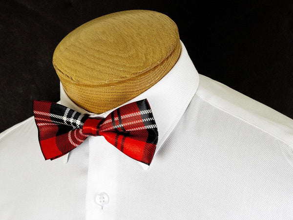 Boy's Bow Tie 24915 Red Plaid