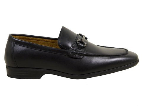 Image of Umi Boys Shoe 25045 Black Bit Loafer Boys Shoes Umi