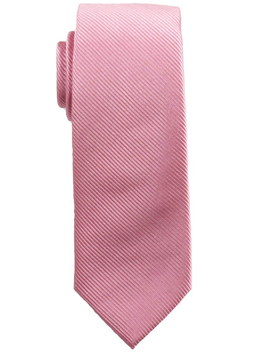 Heritage House 25131 100% Silk Boy's Tie - Tonal Diagonal- Bubble Gum