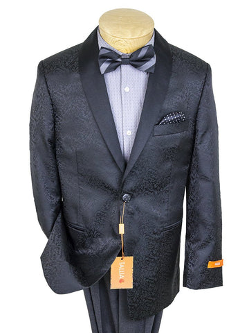 Image of Boy's Sport Coat 25193 Black Boys Sport Coat Tallia