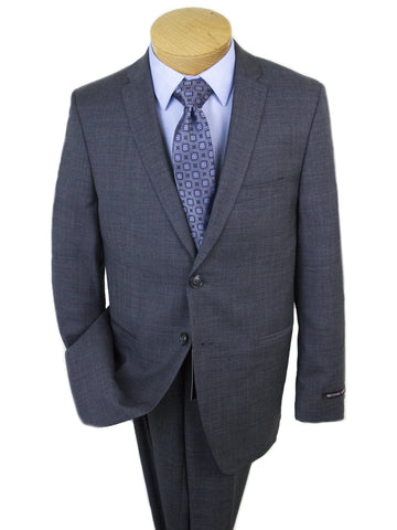 Michael Kors 25328 Skinny Fit Boy's Suit Gray Sharkskin Boys Suit Michael Kors