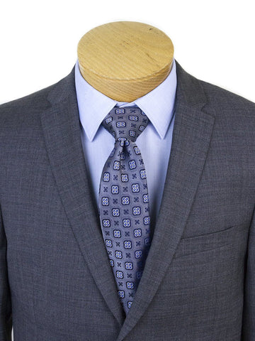 Michael Kors 25328 Skinny Fit Boy's Suit Gray Sharkskin