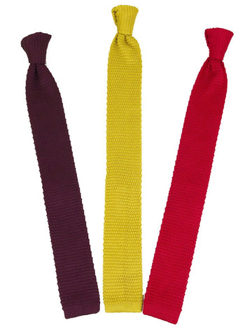 Zenio 25669 Knit Ties Boys Tie Zenio