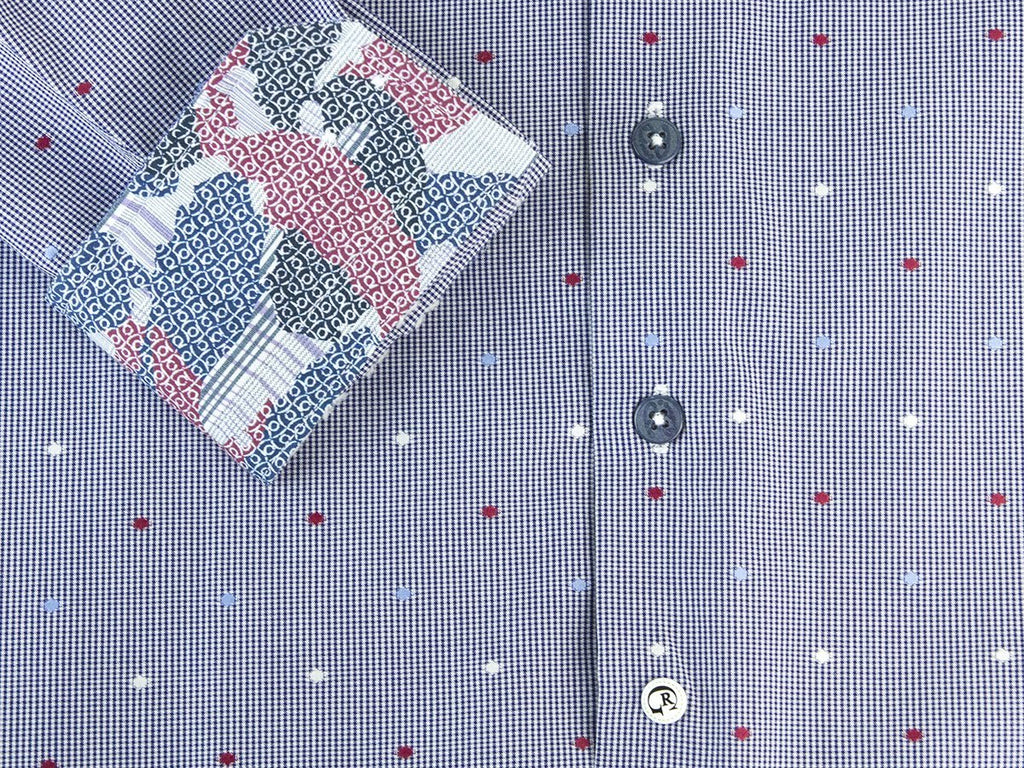 Robert Graham 25883 Navy Dots