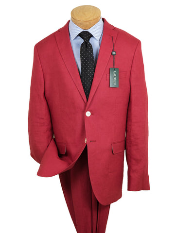 Lauren Ralph Lauren 26101 100% Linen Boy's Suit Separate Jacket - Solid Linen - Red Boys Suit Separate Jacket Lauren