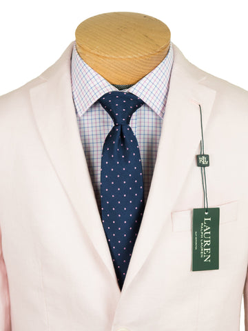 Image of Lauren Ralph Lauren 26108 100% Linen Boy's Suit Separate Jacket - Solid Linen - Pink Boys Suit Separate Jacket Lauren