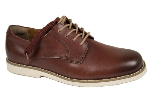Florsheim 26333 Leather Boy's Shoe - Plain Toe Oxford - Brown Boys Shoes Florsheim
