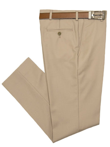 Michael Kors 26544 Boy's Suit-Tan- Pant - Solid Gabardine Boys Dress Pant Michael Kors