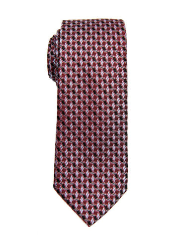 Heritage House 26212 100% Silk Boy's Tie - Neat - Red/Black Boys Tie Heritage House