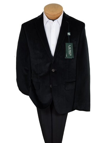 Image of Lauren Ralph Lauren 26898 Boy's Sport Coat-Black Velvet Boys Sport Coat Lauren