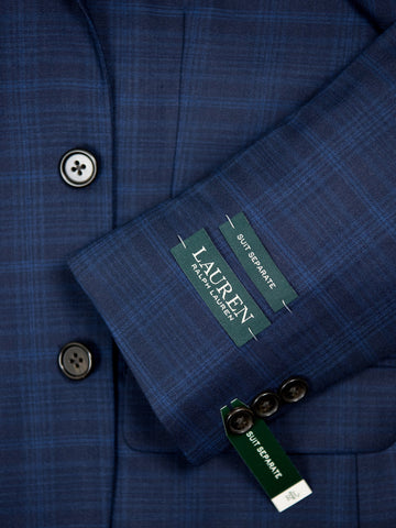 Image of Lauren Ralph Lauren 26937 Suit Separate Jacket-Navy Plaid Boys Suit Separate Jacket Lauren