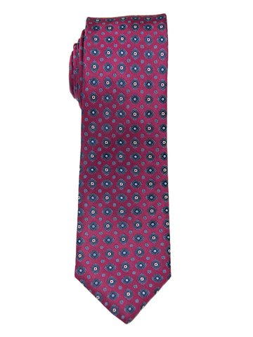 Heritage House 26980 100% Silk Boy's Tie - Neat - Burgundy Boys Tie Heritage House