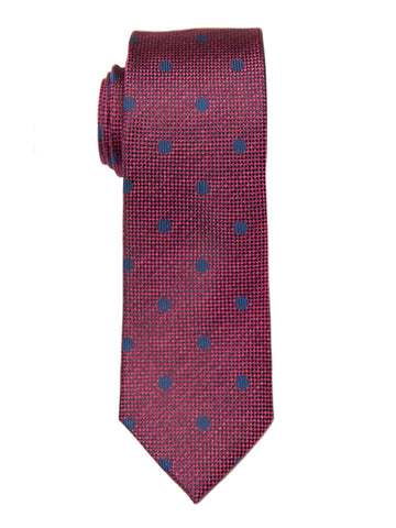 Heritage House 26982 100% Silk Boy's Tie - Neat - Red/Blue Boys Tie Heritage House
