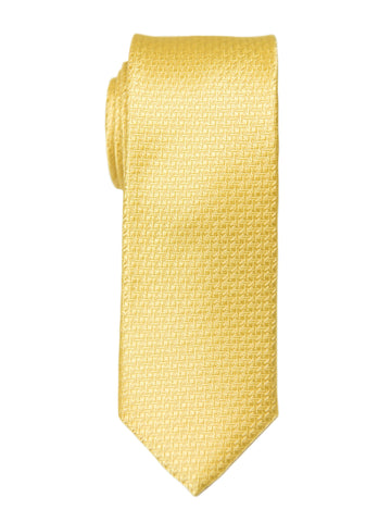 Heritage House 26990 100% Silk Boy's Tie - Neat - Yellow Boys Tie Heritage House
