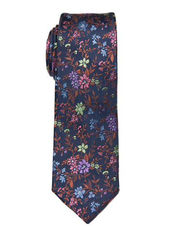 Heritage House 26992 100% Silk Boy's Tie - Blue/Multi Boys Tie Heritage House