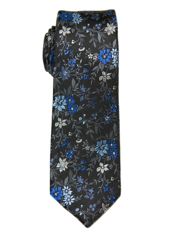 Heritage House 26996 100% Silk Boy's Tie - Blue/Grey Boys Tie Heritage House