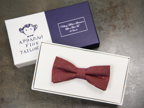 Appaman 27053 Boy's Bow Tie Burgundy Boys Bow Tie Appaman