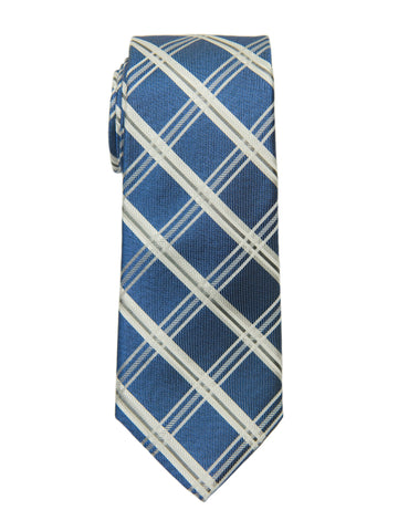 Heritage House 27086 Boy's Tie -Plaid - Blue Boys Tie Heritage House