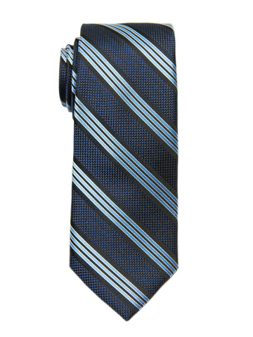 Heritage House 27096 Boy's Tie - Stripe - Navy Boys Tie Heritage House