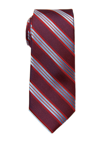 Heritage House 27100 Boy's Tie - Stripe - Red/Blue Boys Tie Heritage House