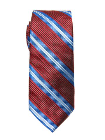 Heritage House 27108 Boy's Tie - Stripe - Red/Blue Boys Tie Heritage House