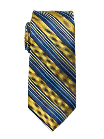 Heritage House 27124 Boy's Tie - Stripe -Yellow/Blue Boys Tie Heritage House