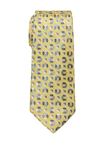 Boy's Tie 27140 Yellow/Blue Neat Boys Tie Heritage House