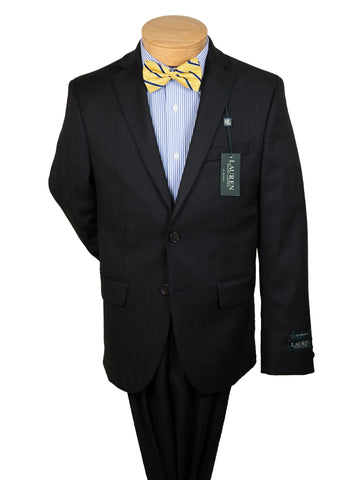Image of Lauren Ralph Lauren 27196 Boy's Suit Separate Jacket - Plaid - Black Boys Suit Separate Jacket Lauren