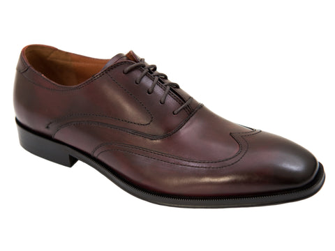 Florsheim 27272- Wing Tip Oxford - Burgundy Boys Shoes Florsheim