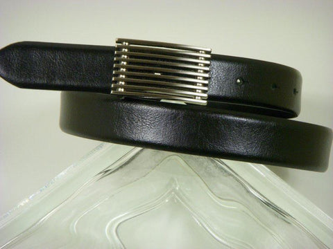 Paul Lawrence 2731 100% Leather Boy's Belt - Grain Leather Finish - Black Boys Belt Paul Lawrence