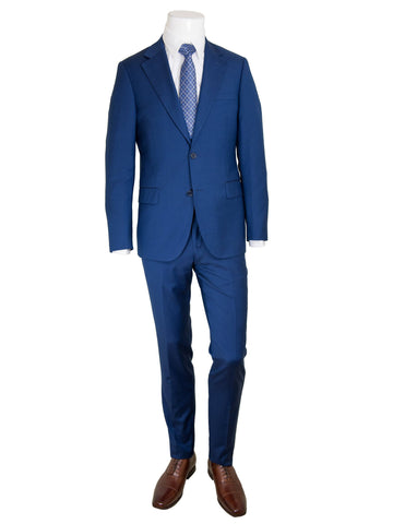 Trend by Maxman 27518 Skinny Fit Young Man's Suit Separate Jacket- Italian Blue Young Mens Suit Separate Jacket Maxman