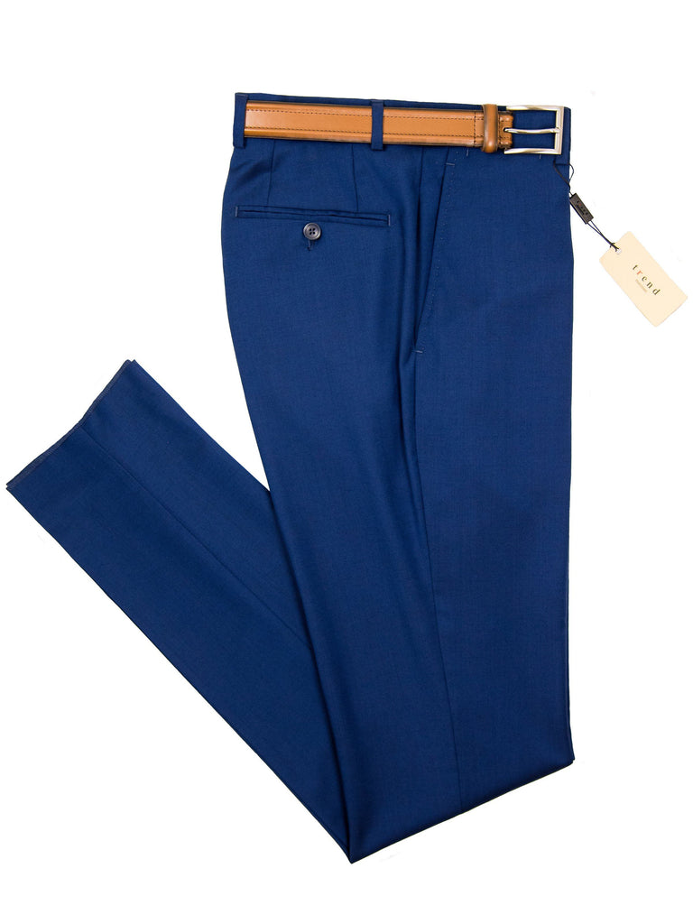 Trend by Maxman 27518P Skinny Fit Young Man's Dress Pant Separate - Italian Blue Young Mens Dress Pant Separate Maxman