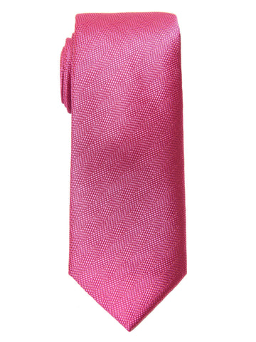 Heritage House 27581 100% Woven Silk Boy's Tie - Tonal Solid - Rose Boys Tie Heritage House