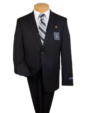 Hart Schaffner Marx 27604  Boy's Suit - Solid - Black