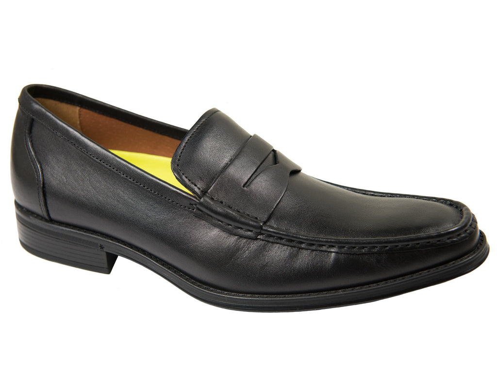 Florsheim 27623 Boy's Dress Shoe-Penny Loafer-Smooth- Black Boys Shoes Florsheim