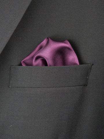 Boy's Pocket Square 27698 Purple Boys Pocket Square Heritage House