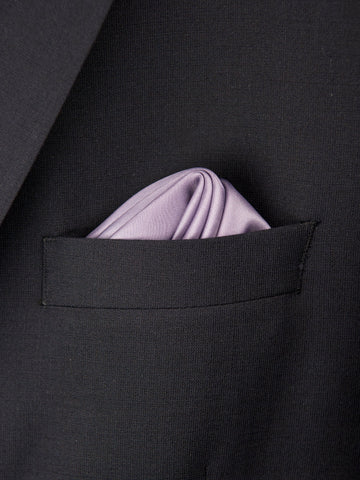 Boy's Pocket Square 27700 Dark Lilac Boys Pocket Square Heritage House