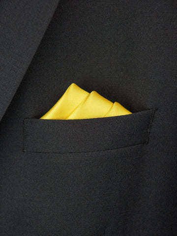 Boy's Pocket Square 27703 Yellow Boys Pocket Square Heritage House
