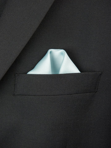 Boy's Pocket Square 27716 Seafoam Boys Pocket Square Heritage House
