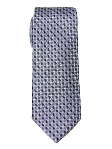 Boy's Tie 27724 Purple/Black Neat Boys Tie Heritage House