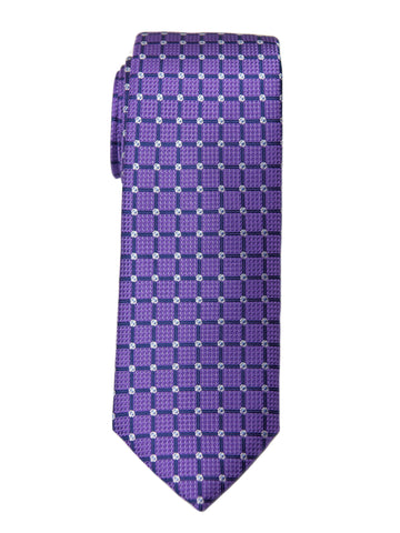 Boy's Tie 27731 Purple/Navy Neat Boys Tie Heritage House