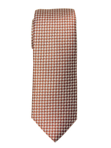 Boy's Tie 27736 Orange Neat Boys Tie Heritage House