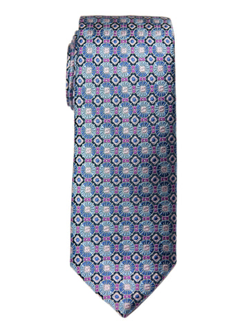 Boy's Tie 27740 Pink/Blue Neat Boys Tie Heritage House
