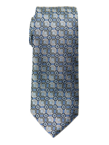 Boy's Tie 27743 Grey/Blue Neat Boys Tie Heritage House