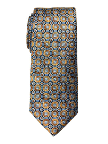 Boy's Tie 27746 Orange/Blue Neat Boys Tie Heritage House
